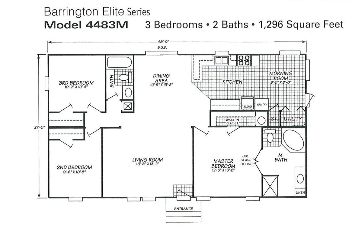 home ideas triple wide mobile home floor plans